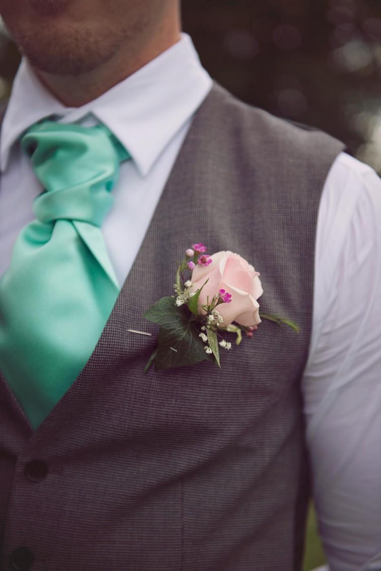 best man's buttonhole