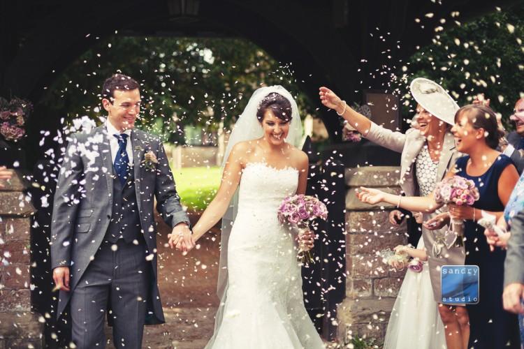 Eastnor castle wedding by Sandry Studio