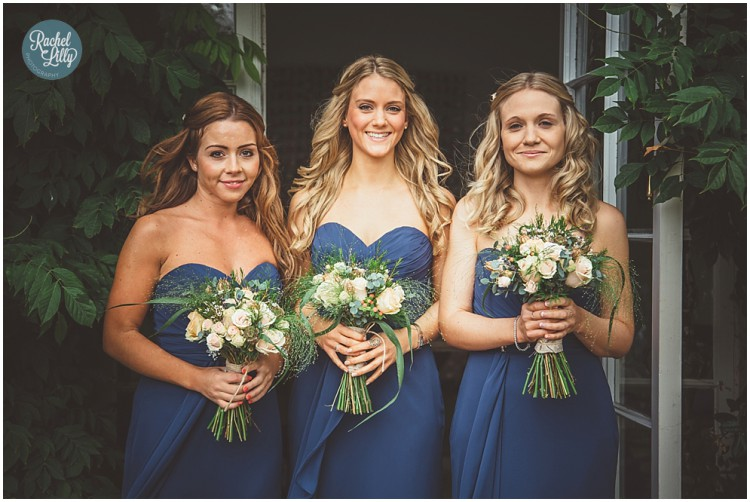 rustic bridesmaid bouquets