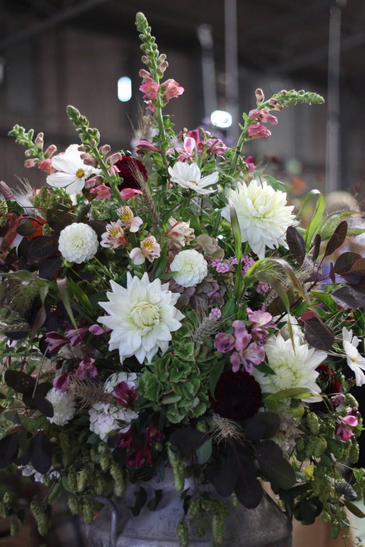 autumn churn arrangement