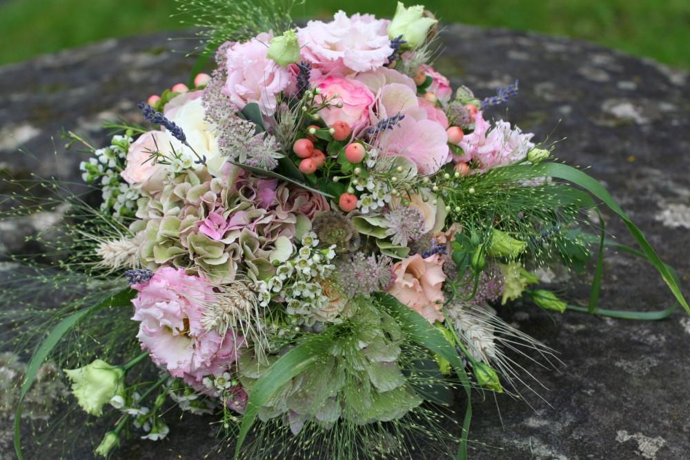 rustic vintage brides bouquet