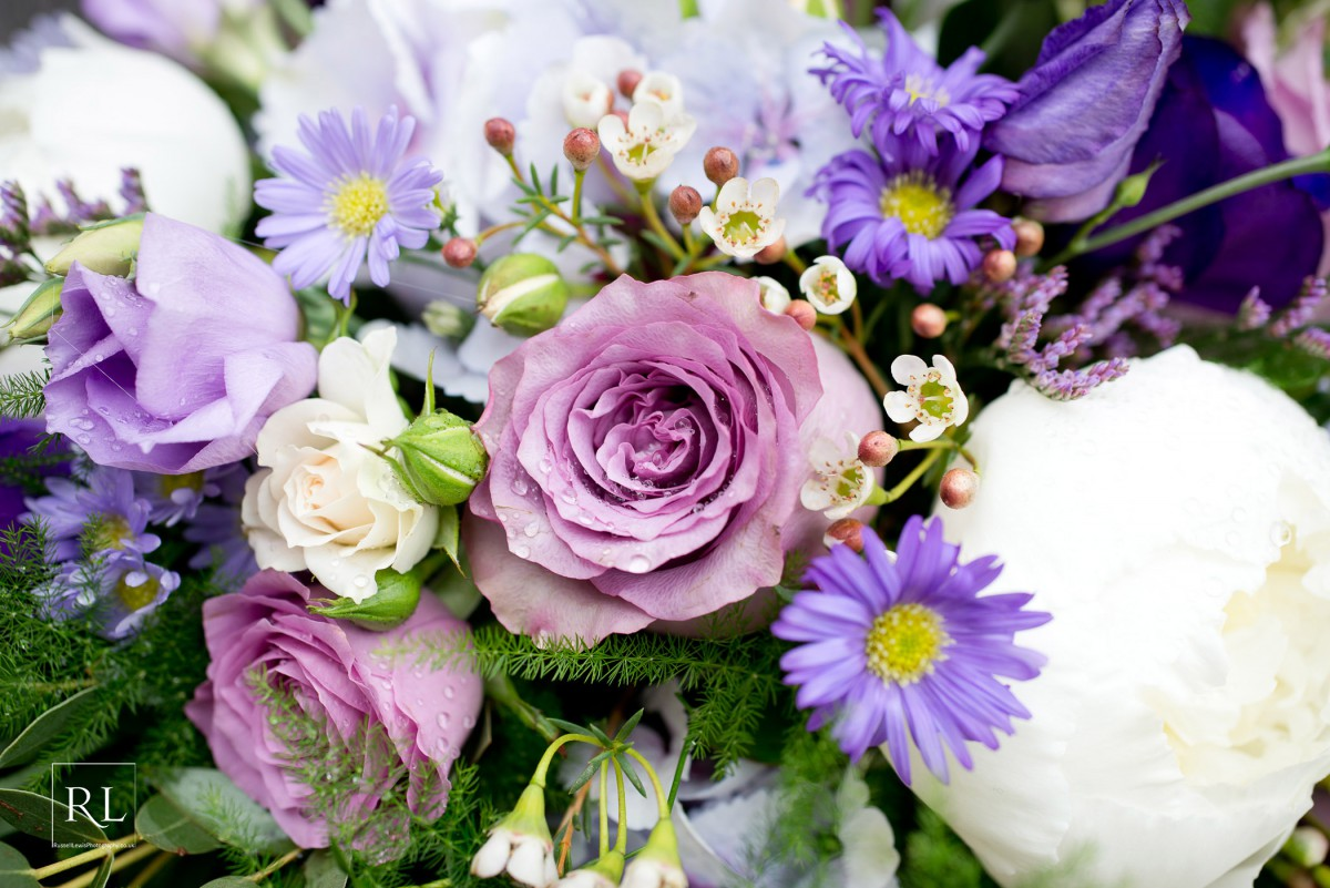 Pretty in purples wedding flowers for sarah and john at homme house lilac and lavender wedding flowers izmirmasajfo Image collections