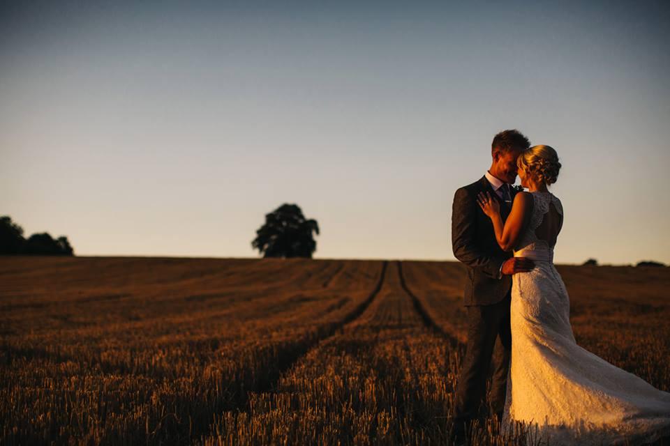 bride and groom at Arley arboretum wedding