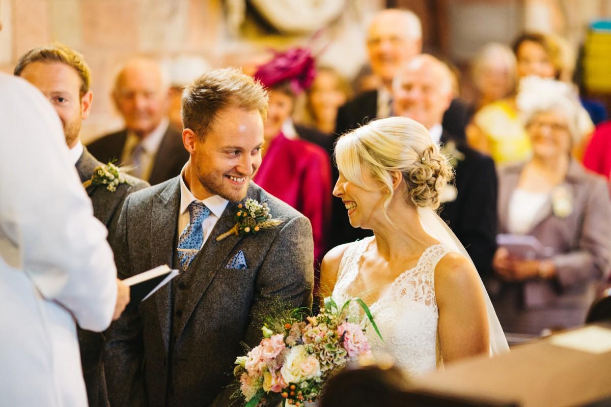 bride and groom tipi wedding