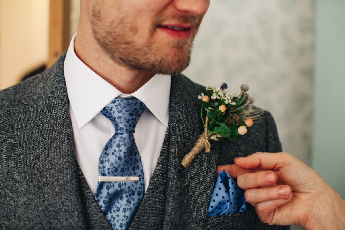 rustic grooms buttonhole