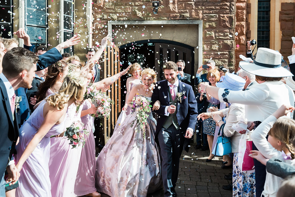 confetti shot by Sara Beaumont Photography
