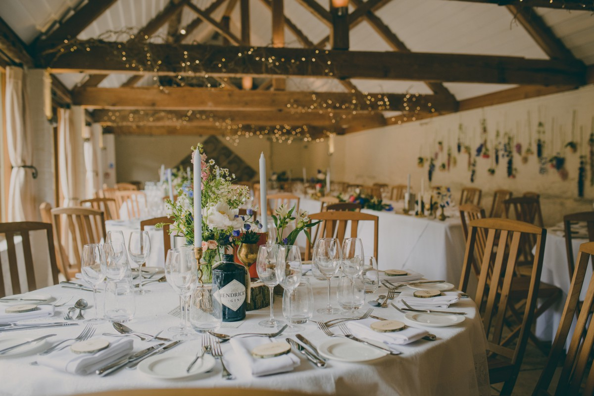 curradine barns wedding flowers
