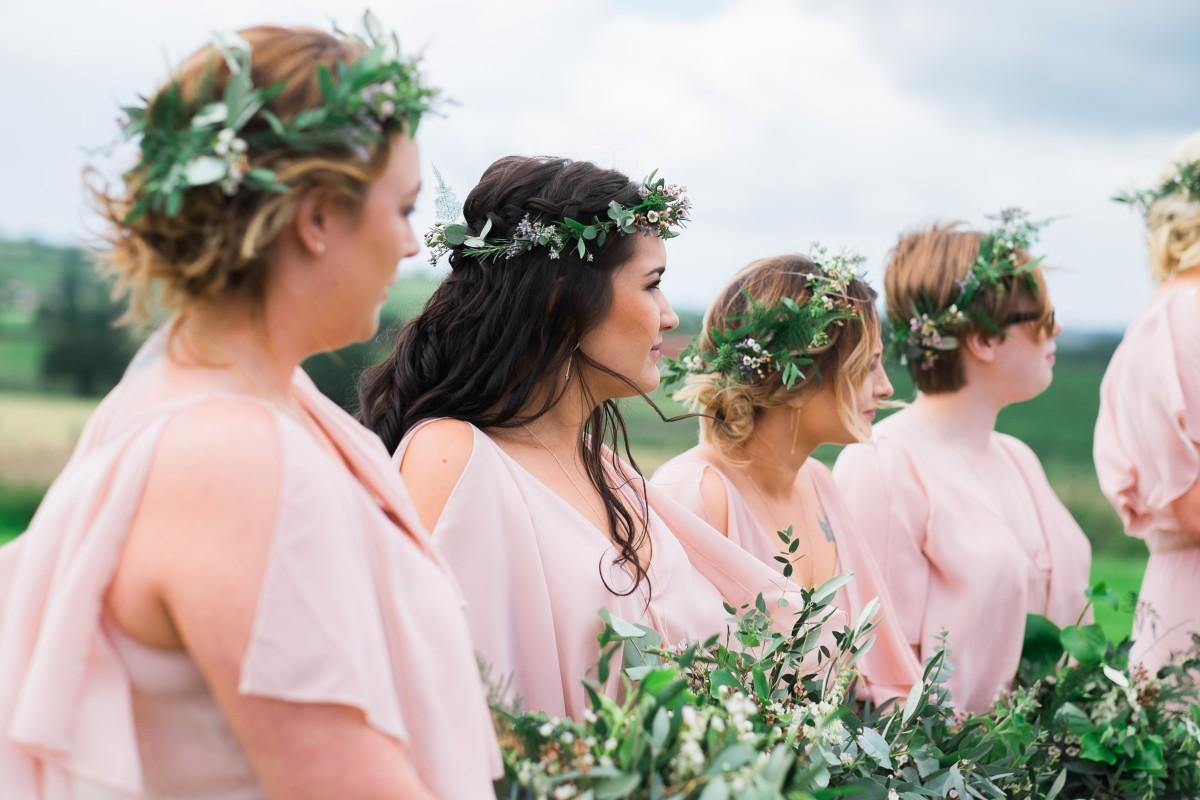 foliage flower crowns