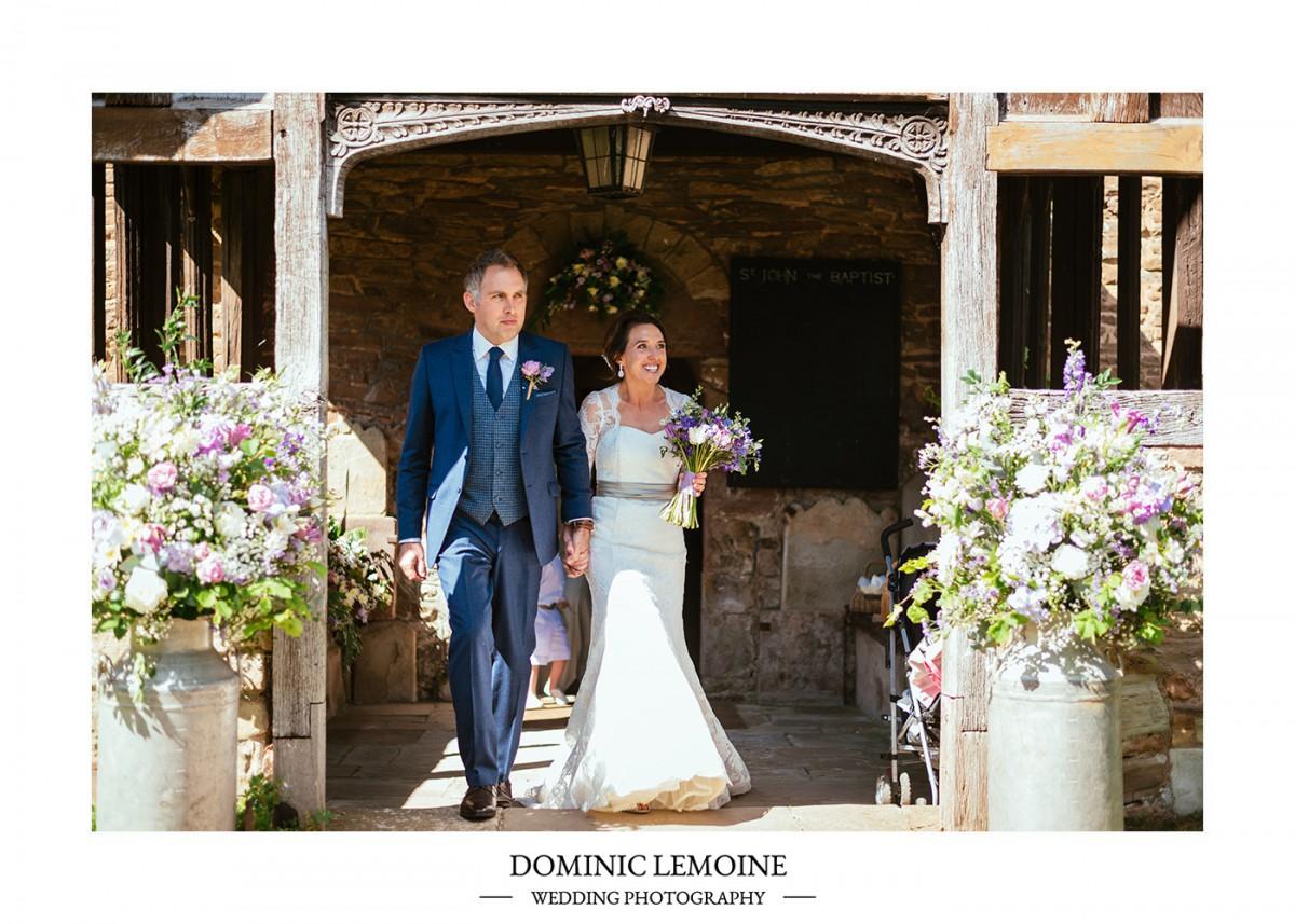 spring bluebell wedding