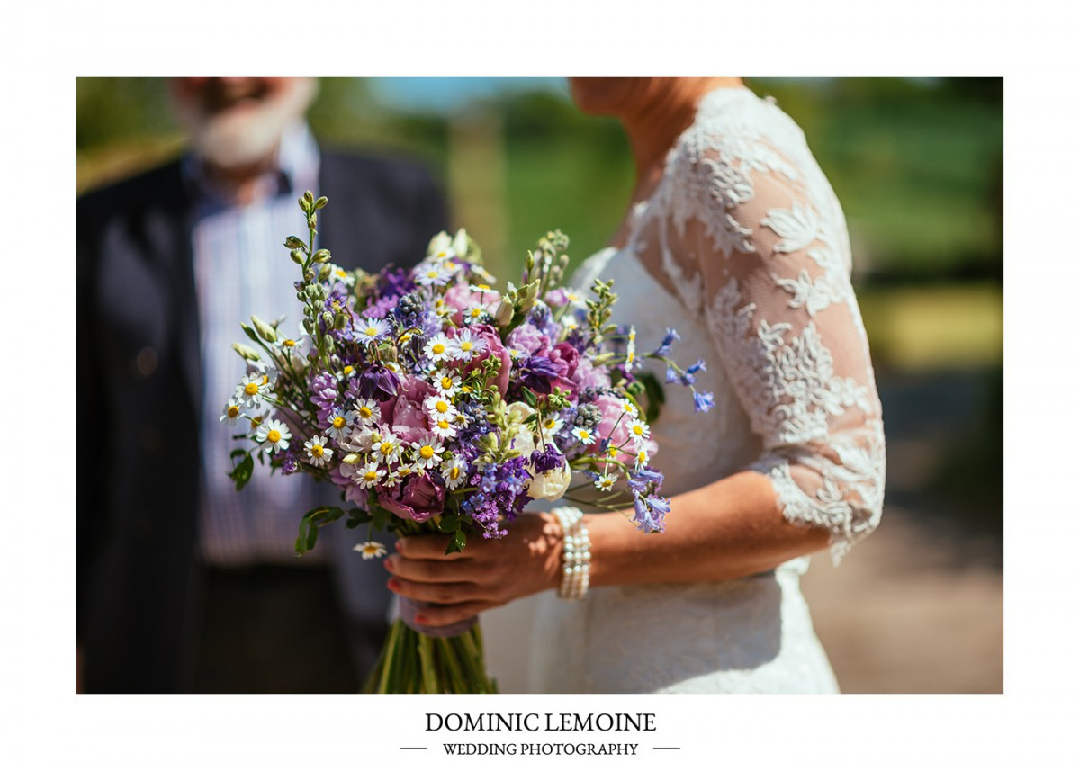 spring brides bouquet
