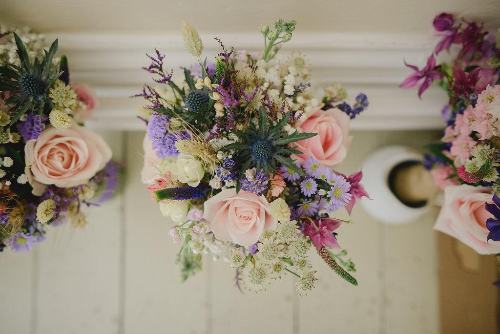 rustic bridesmaids bouquet