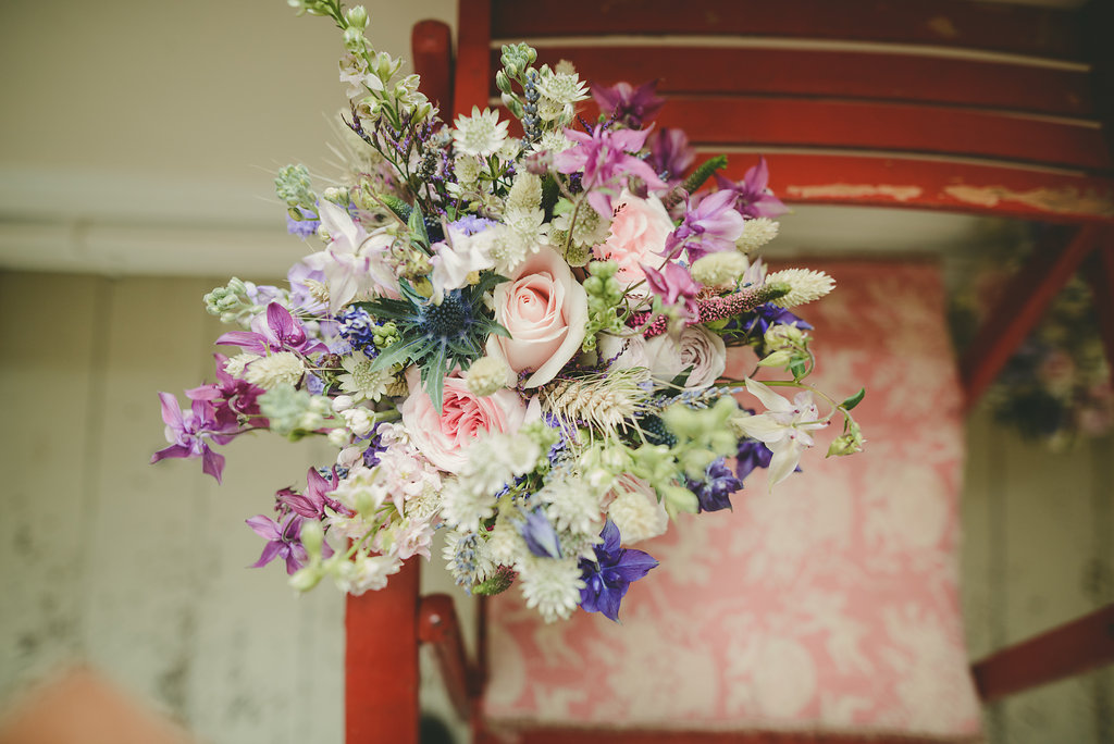 rustic brides bouquet