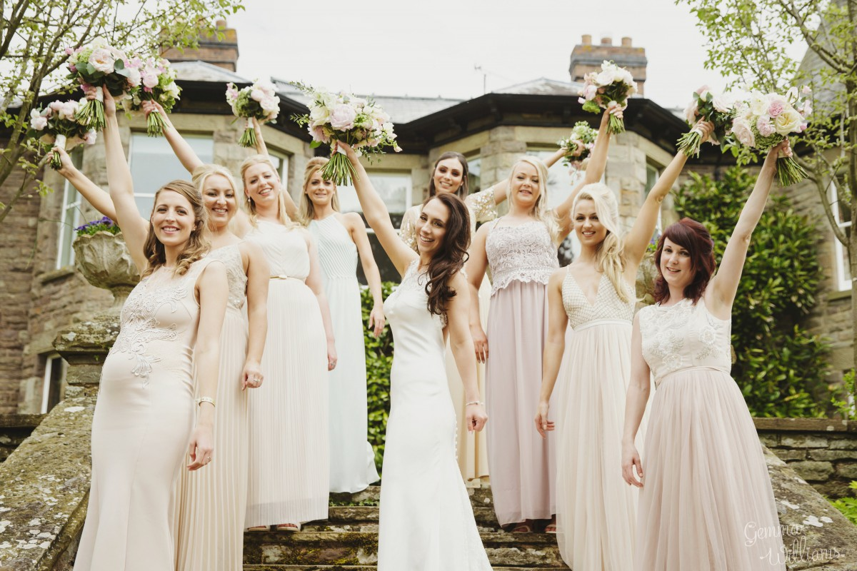 Brobury House wedding flowers