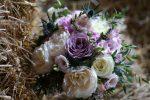 garden rose brides bouquet