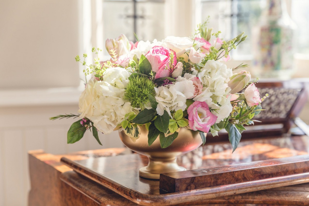 elmore court wedding flowers