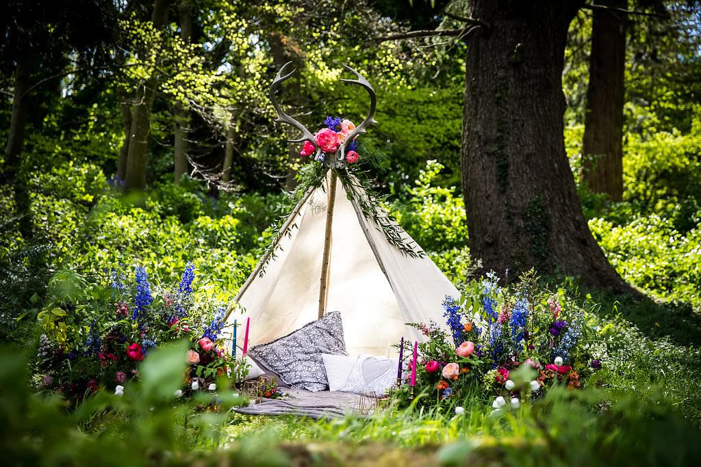 woodland wedding homme house