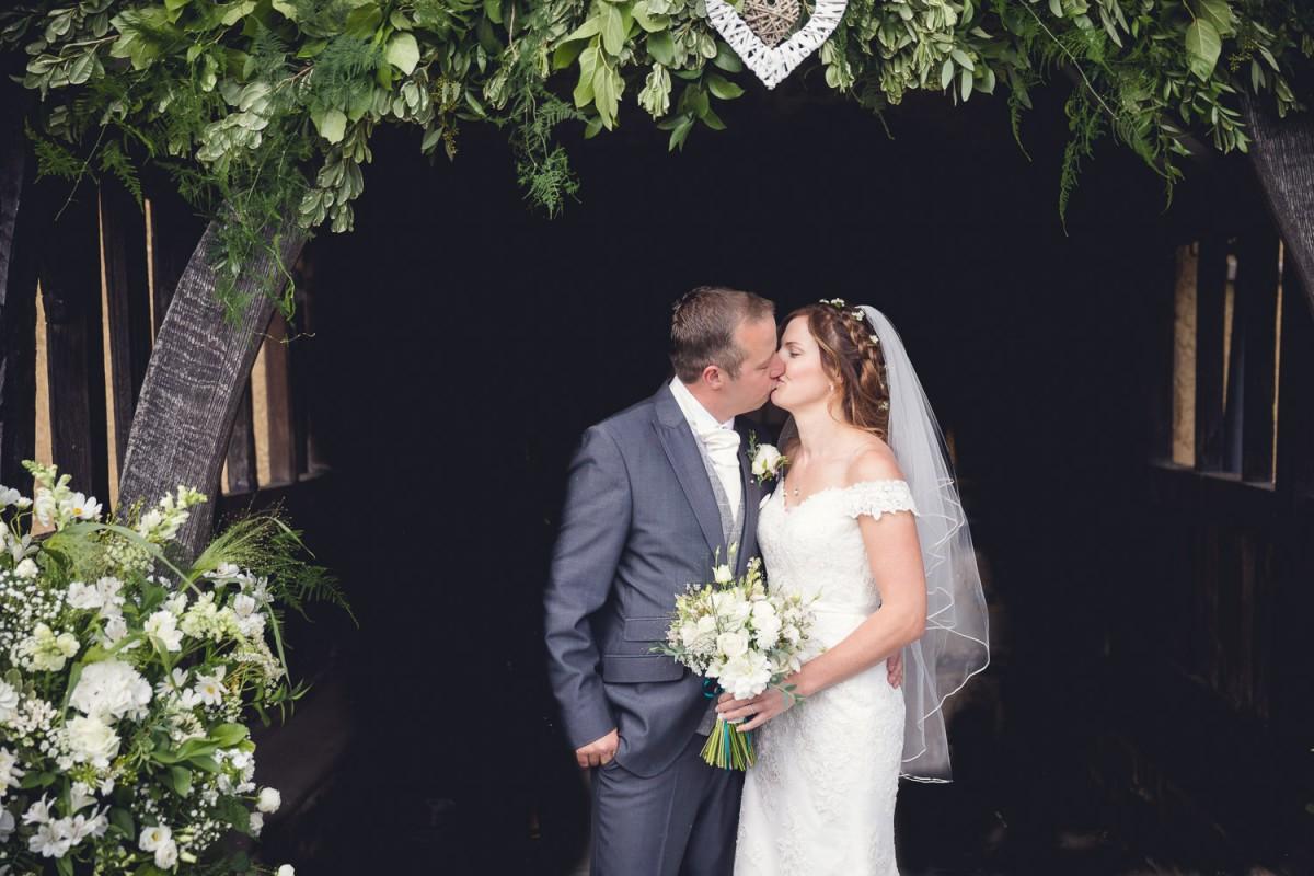 church flowers rustic wedding