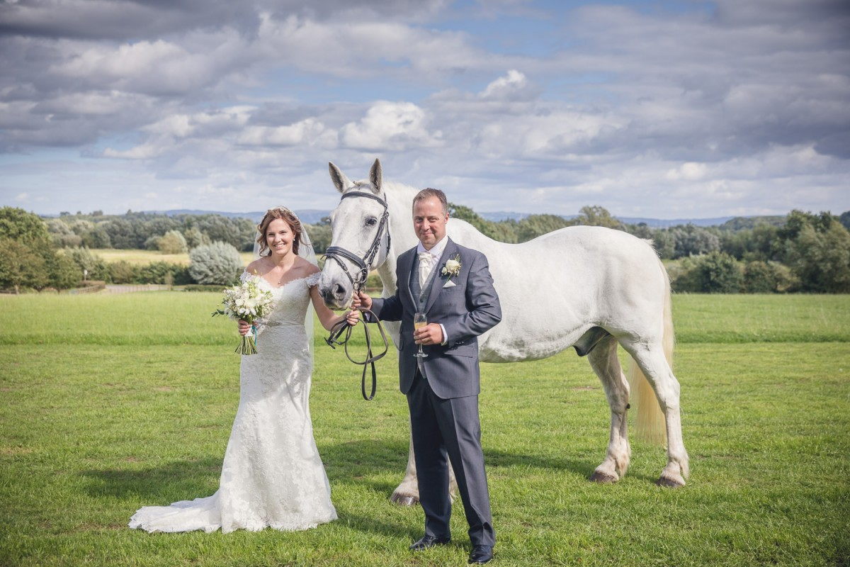 rustic country wedding in Gloucestershire