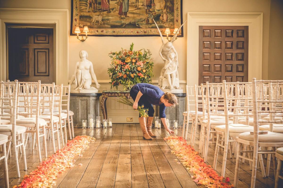 Ombre petals JennyFleur Elmore Court