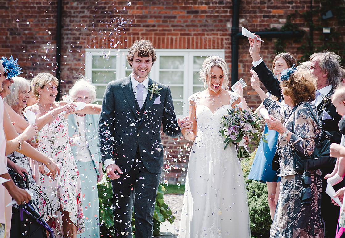 summer wedding at Curradine Barns by Jenny Fleur