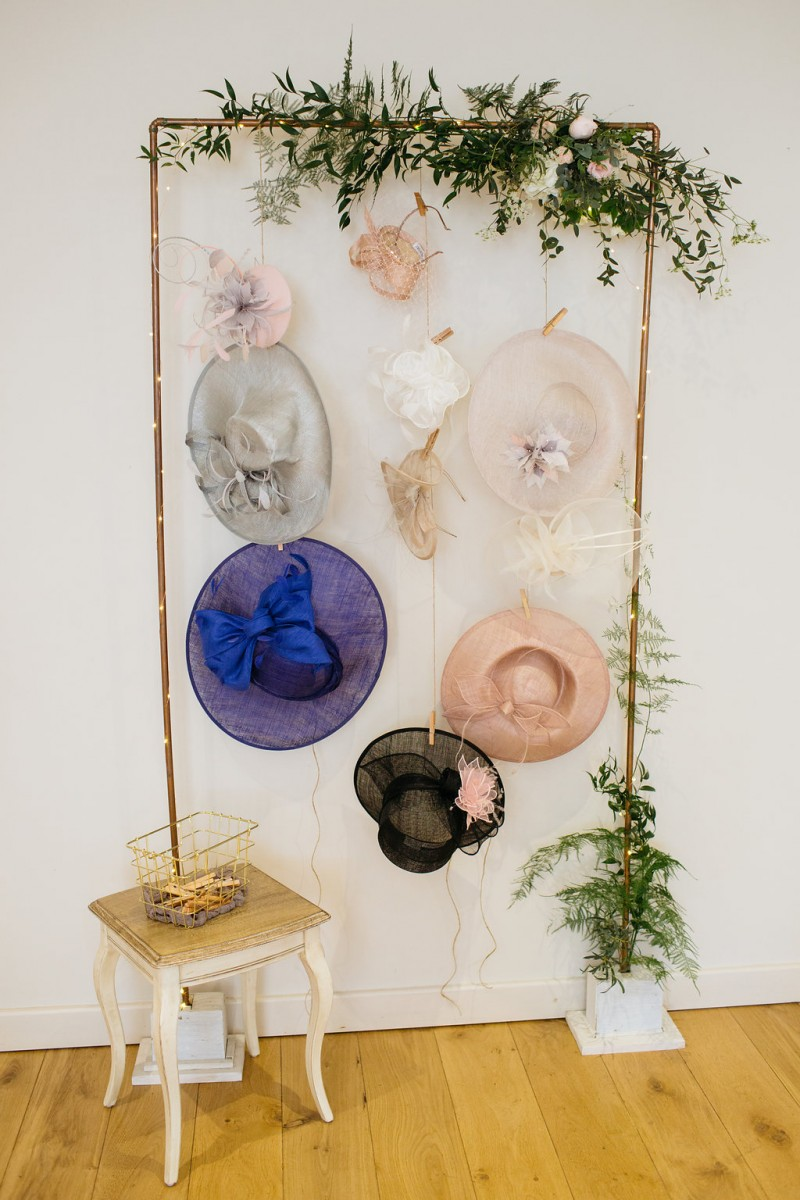 wedding hat hanger