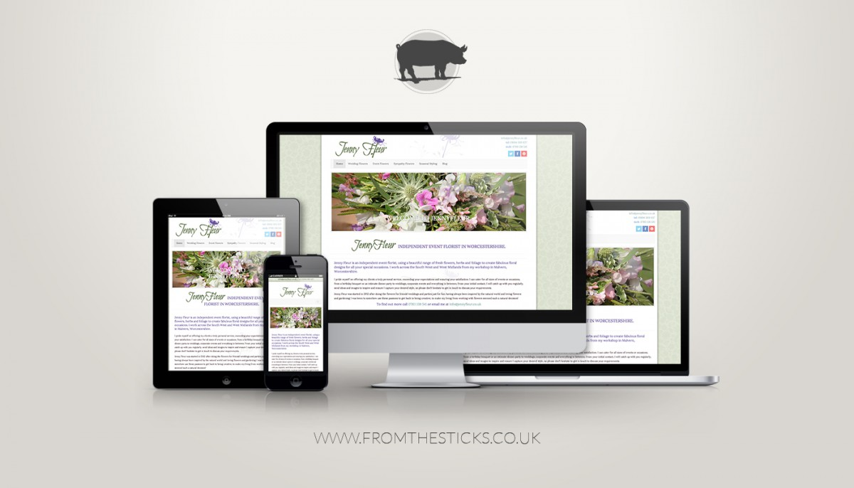 responsive web design by fromthesticks
