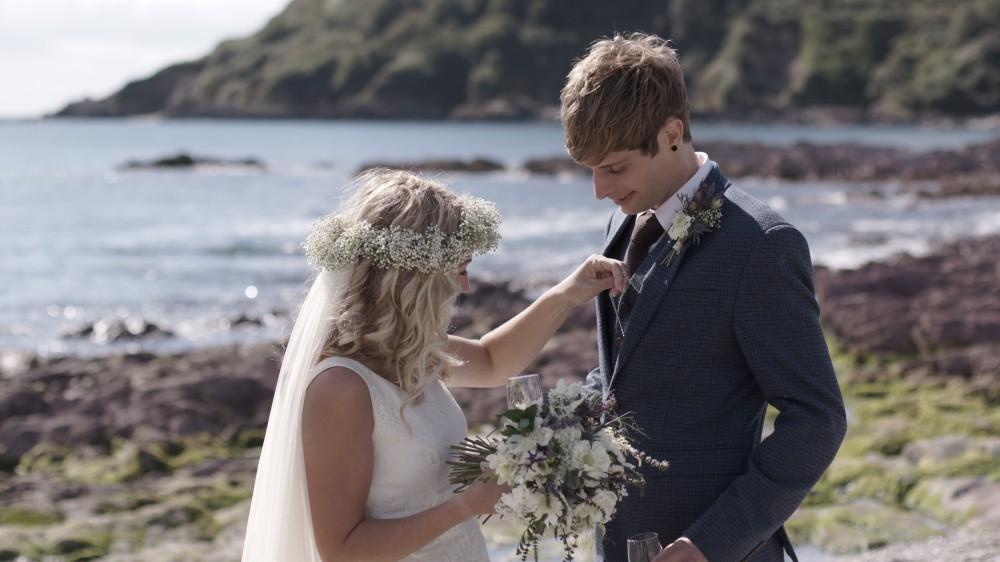 talland bay wedding