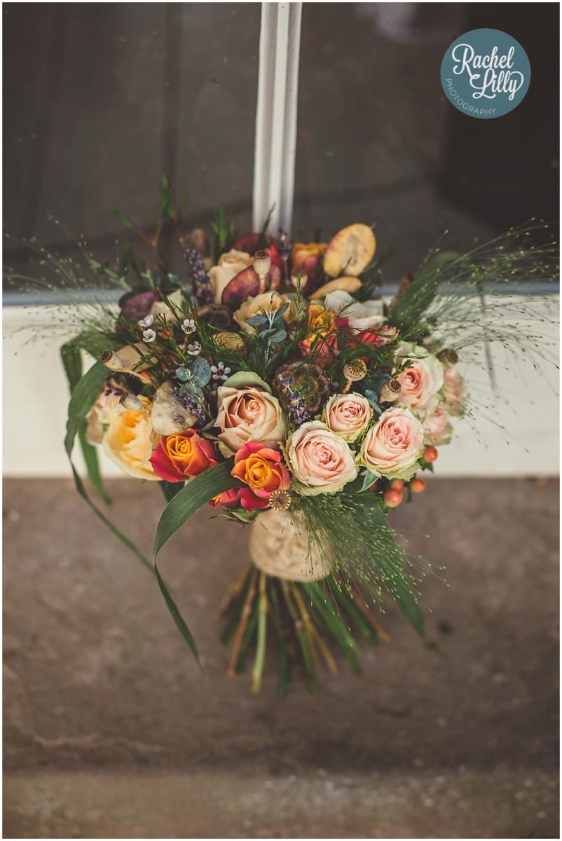 rustic brides bouquet