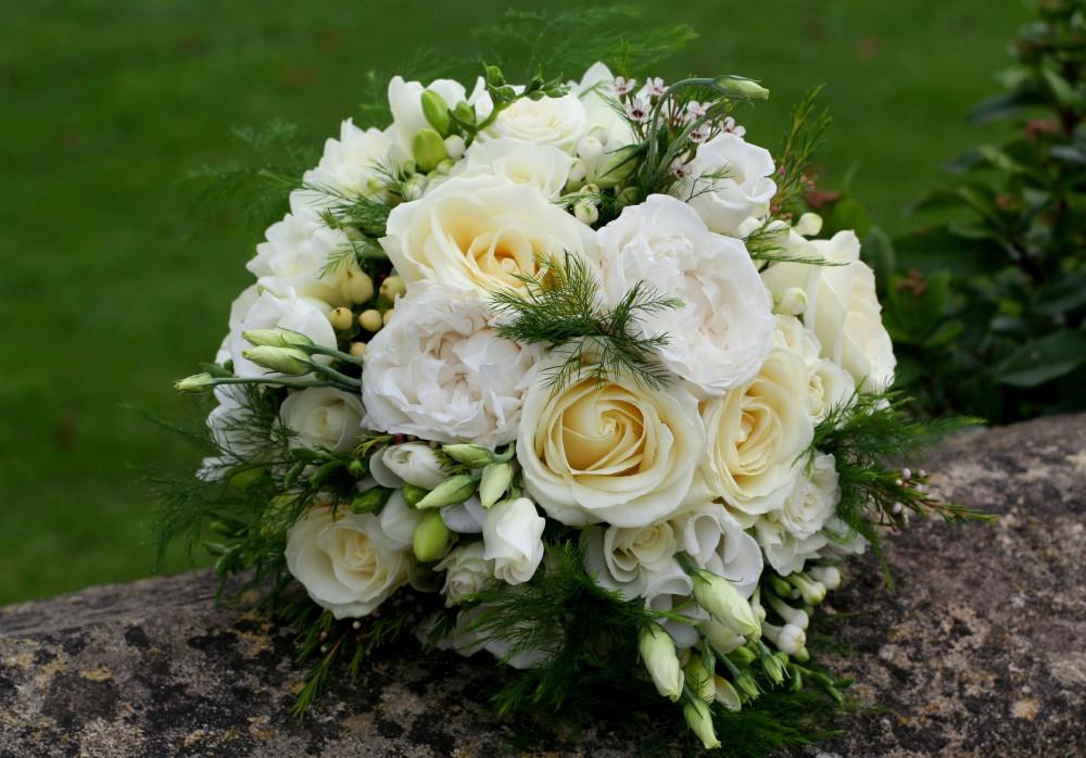 classic brides bouquet