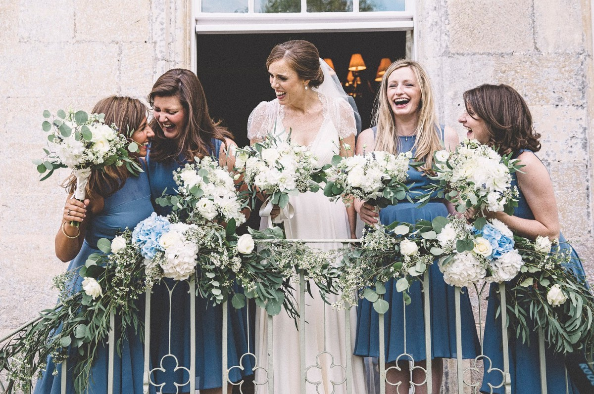 wedding flowers at Elmore Court
