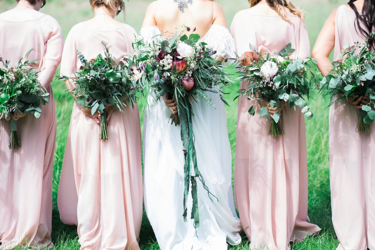 festival wedding flowers