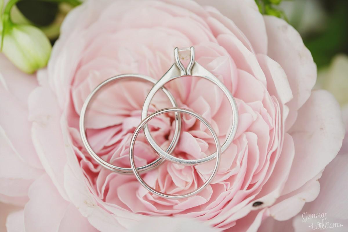 garden rose Herefordshire wedding flowers