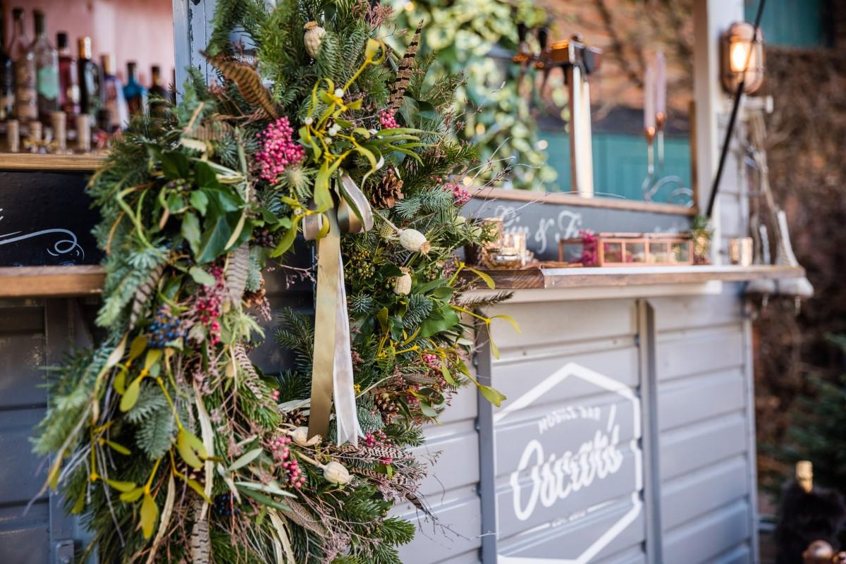 Christmas wreath by Jenny Fleur