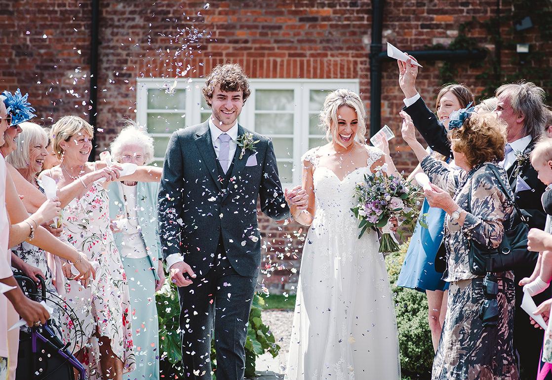 summer wedding at Curradine Barns by Jenny Fleur