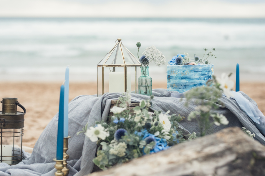 coastal wedding styling and florals by JennyFleur